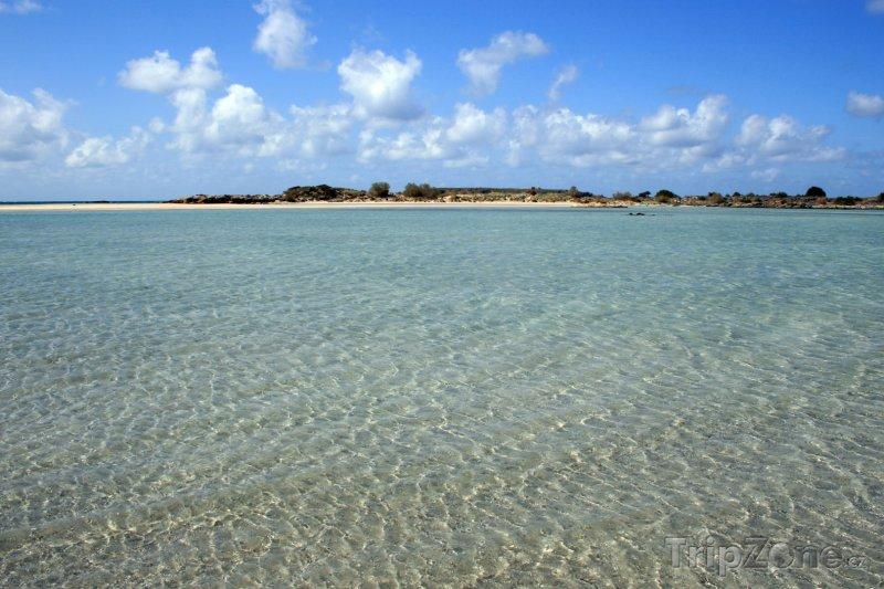 Fotka, Foto Kréta - pláž Elafonissi (Řecko)