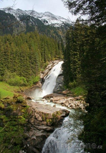 Fotka, Foto Krimmlské vodopády (Rakousko)
