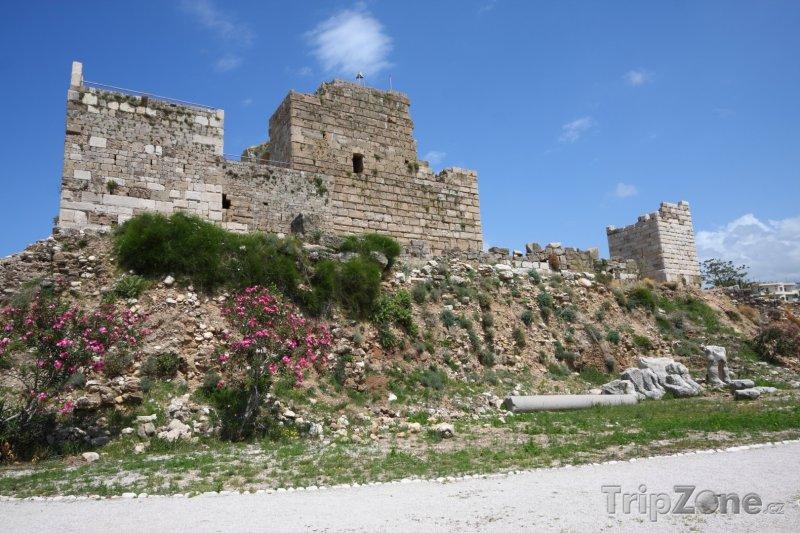 Fotka, Foto Křižácký hrad v Byblu (Libanon)