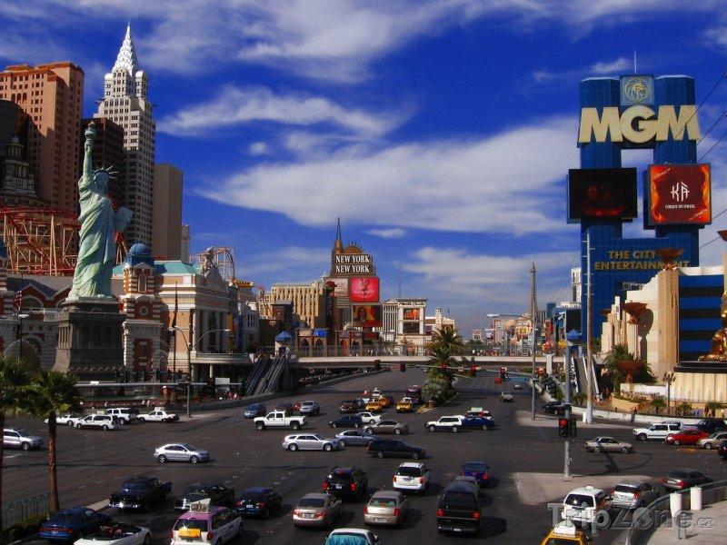 Fotka, Foto Las Vegas Boulevard (USA)