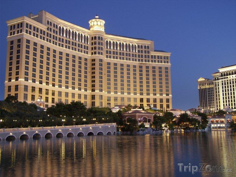 Fotka, Foto Las Vegas, hotel a kasino Bellagio (USA)