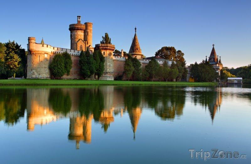Fotka, Foto Laxenburské zámky (Rakousko)