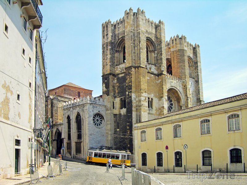 Fotka, Foto Lisabonská katedrála (Lisabon, Portugalsko)