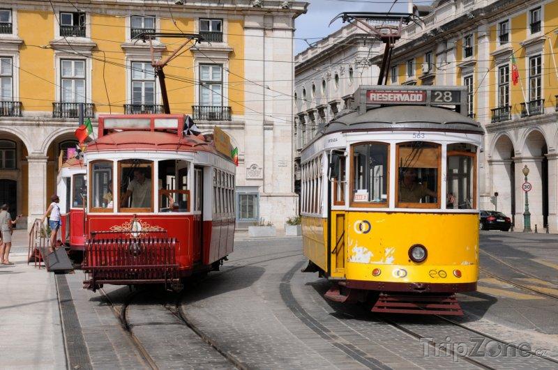 Fotka, Foto Lisabonské tramvaje (Lisabon, Portugalsko)