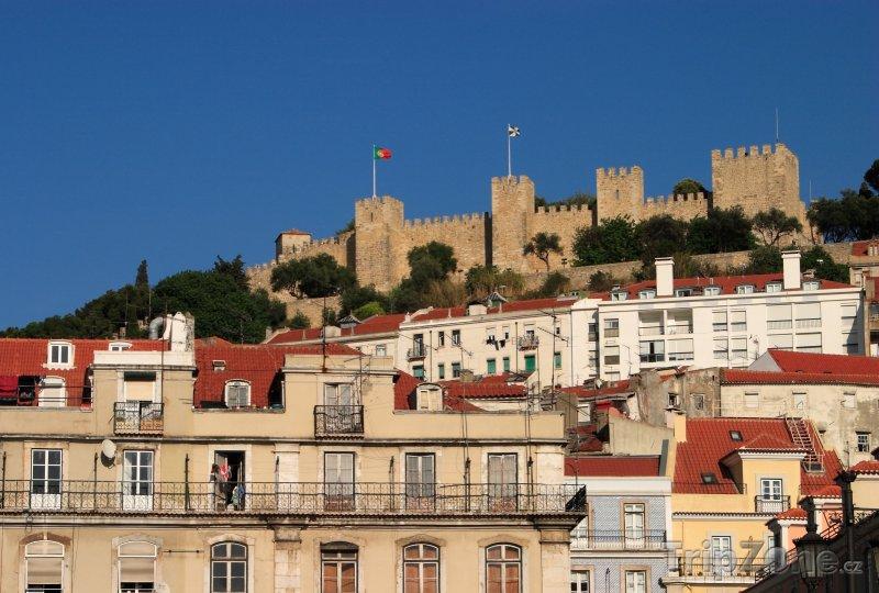 Fotka, Foto Lisabonský hrad (Lisabon, Portugalsko)