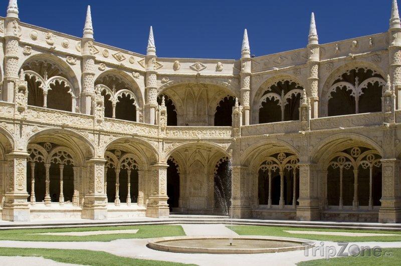 Fotka, Foto Lisabonský klášter sv. Jeronýma (Lisabon, Portugalsko)