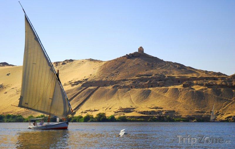Fotka, Foto Loď na Nilu (Egypt)