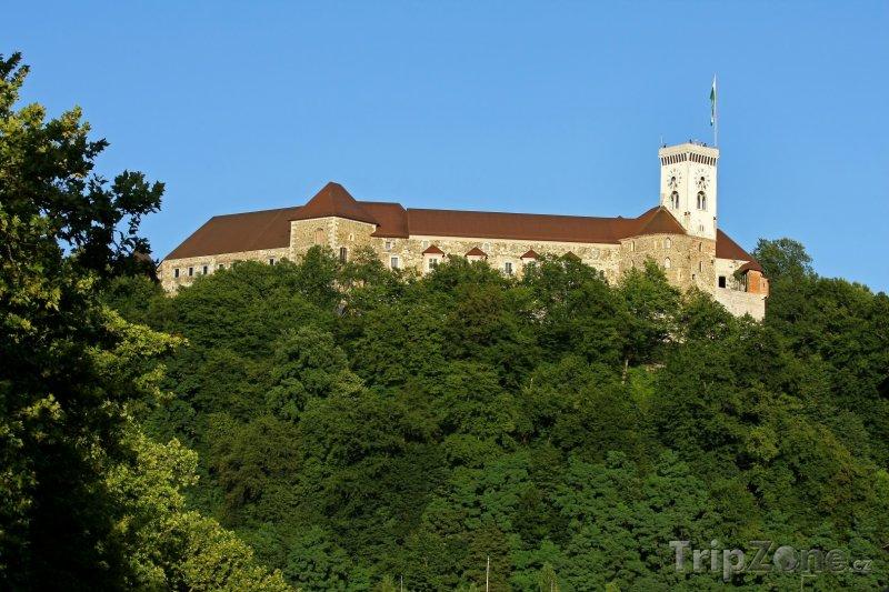Fotka, Foto Lublaňský hrad (Lublaň, Slovinsko)