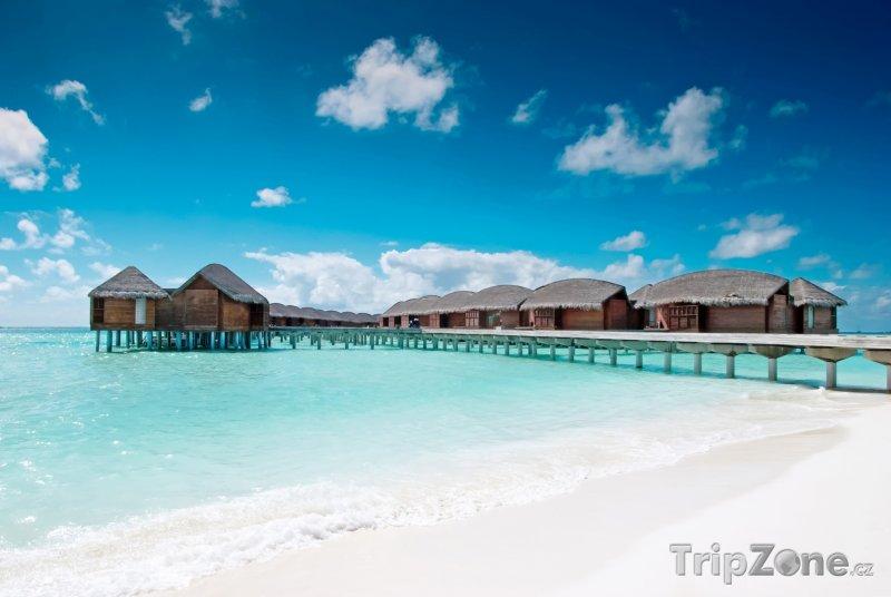 Fotka, Foto Luxusní resort a vodní bungalovy (Maledivy)