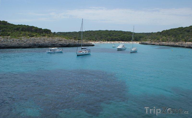 Fotka, Foto Mallorca - pláž Cala Mondragó (Španělsko)