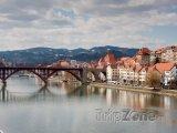 Maribor, most přes Drávu