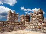 Marmaris, cimbuří hradu