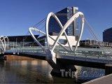 Melbourne - most přes řeku Yarra