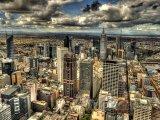 Melbourne - pohled na město