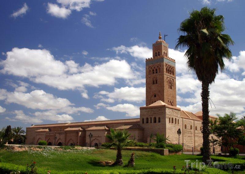Fotka, Foto Mešita Koutoubia v Marakéši (Maroko)
