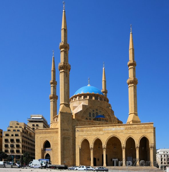 Fotka, Foto Mešita Mohammeda el-Amineho v Bejrútu (Libanon)