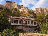 Město Melnik, typické domy