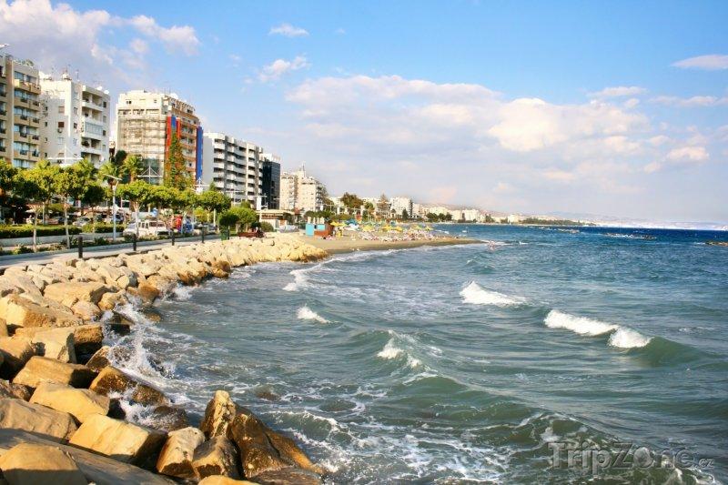 Fotka, Foto Městská pláž v Limassolu (Kypr)
