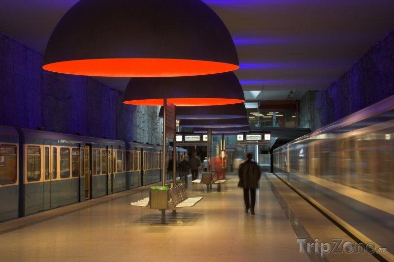 Fotka, Foto Metro v Mnichově (Mnichov, Německo)