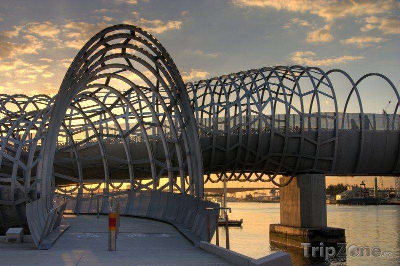 Fotka, Foto Moderní most v Melbourne (Austrálie)