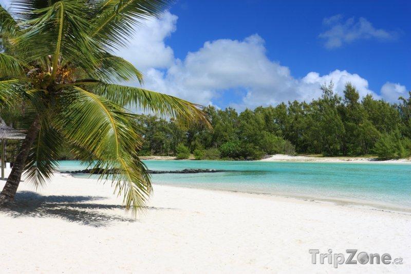 Fotka, Foto Modrá laguna (Mauricius)