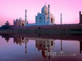 Monumentální pomník Tádž Mahal v Ágře