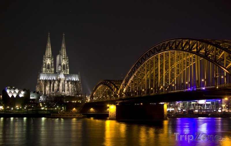 Fotka, Foto Most Hohenzollern v Kolíně (Německo)