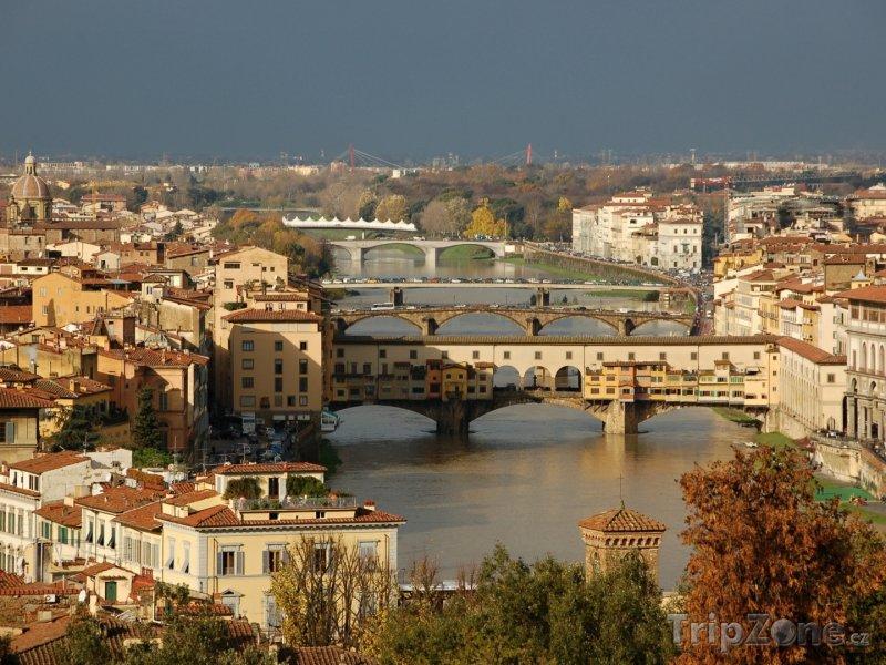 Fotka, Foto Most Ponte Vecchio (Florencie, Itálie)