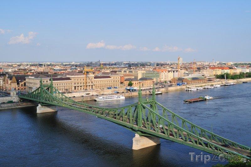 Fotka, Foto Most Svobody (Budapešť, Maďarsko)