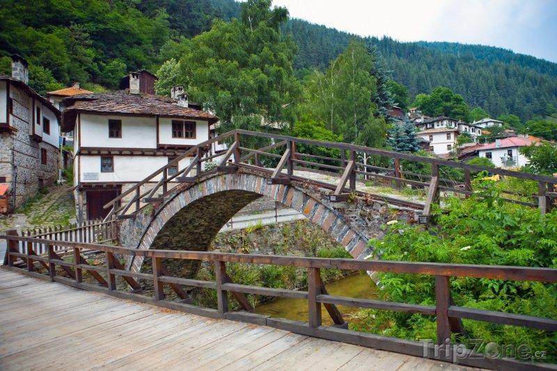 Fotka, Foto Most ve vesnici Široka Laka (Bulharsko)