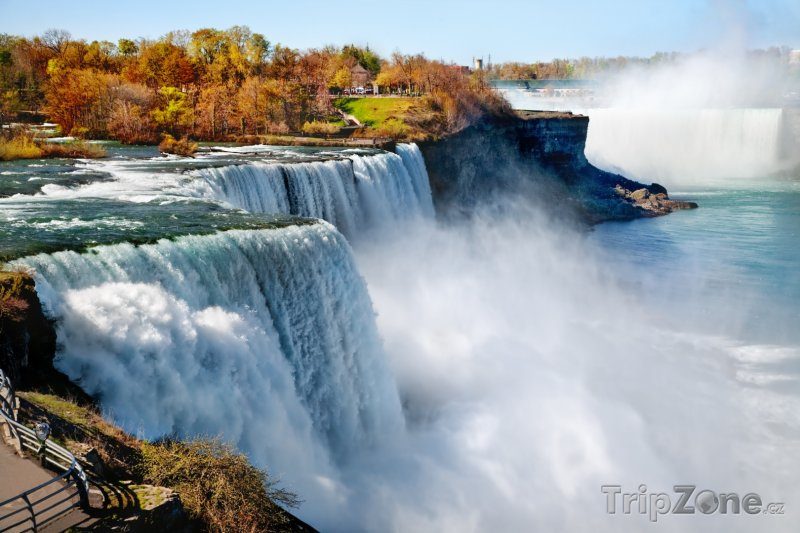 Fotka, Foto Niagarské vodopády v USA (USA)