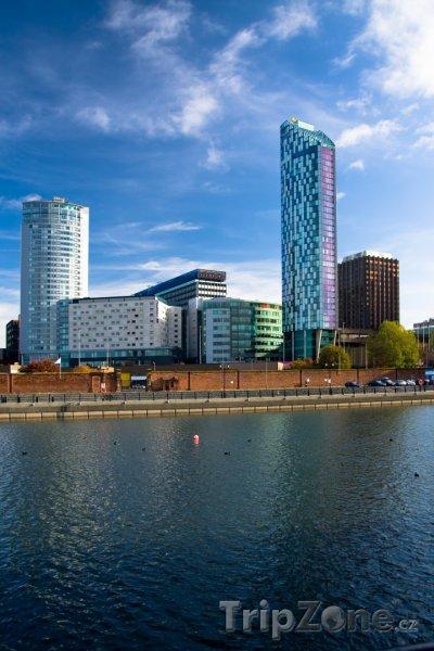 Fotka, Foto Obchodní čtvrť (Liverpool, Velká Británie)