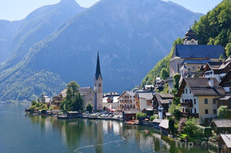 Fotka, Foto Oblast Salzkammergut vesnice Hallstatt (Rakousko)