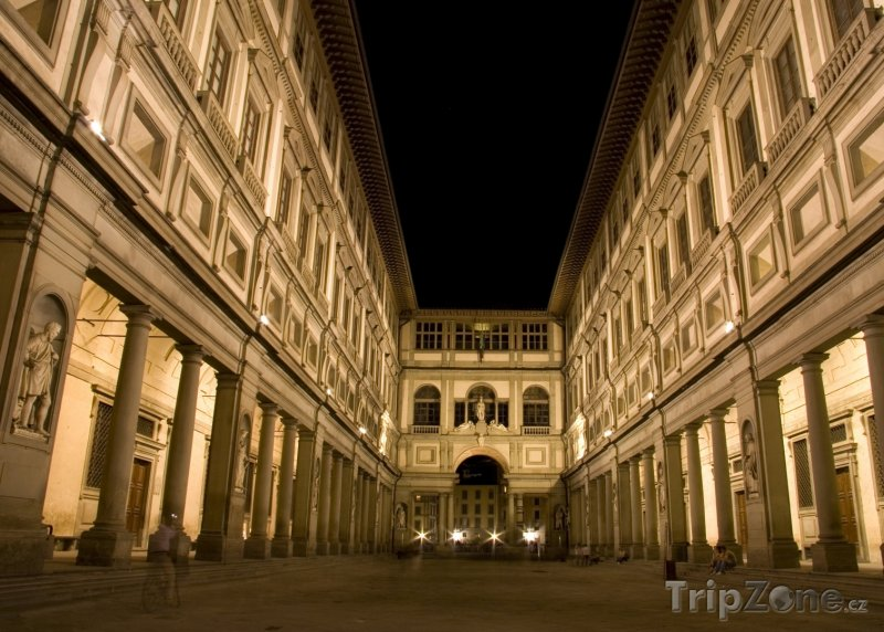 Fotka, Foto Obrazárna Uffizi ve Florencii (Florencie, Itálie)