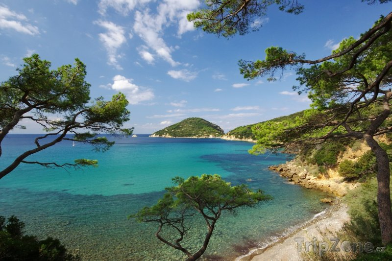 Fotka, Foto Ostrov Elba u toskánského pobřeží (Itálie)