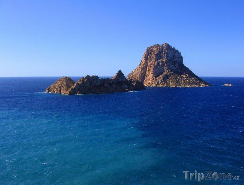 Fotka, Foto Ostrůvek Es Vedrá poblíž Ibizy (Ibiza, Španělsko)