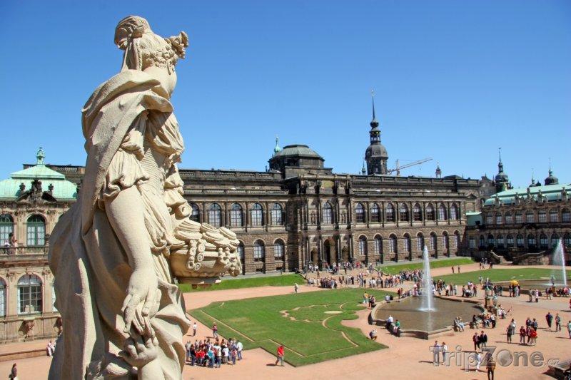 Fotka, Foto Palác Zwinger v Drážďanech (Německo)