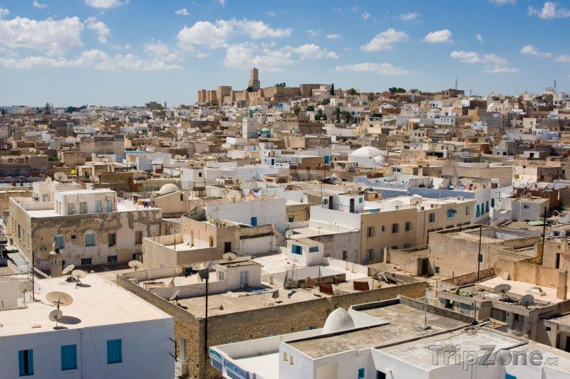 Fotka, Foto Panoráma města Sousse (Tunisko)