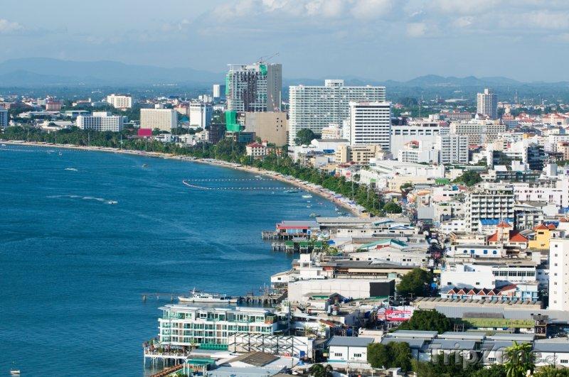 Fotka, Foto Pattaya, pobřeží ve městě (Thajsko)
