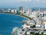 Pattaya, pobřeží ve městě