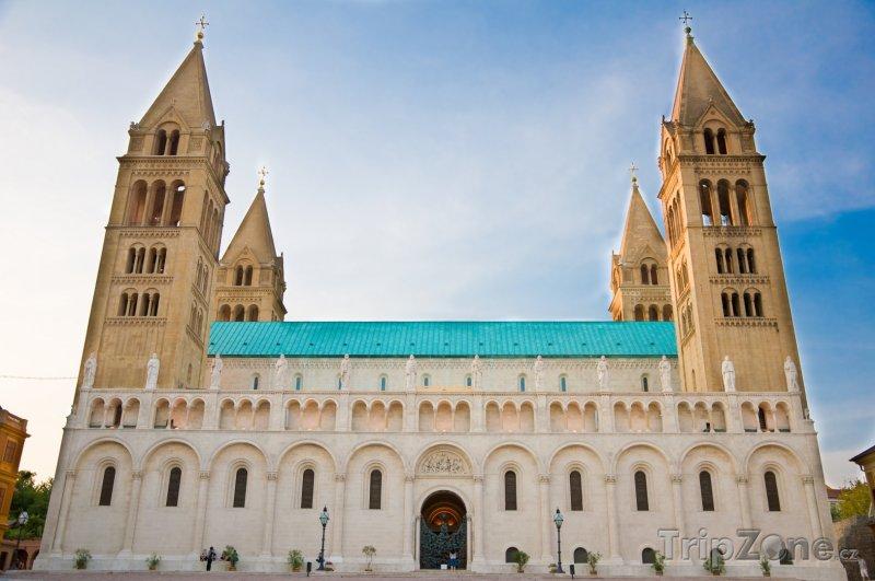 Fotka, Foto Pécs, katedrála (Maďarsko)