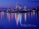 Perth v noci