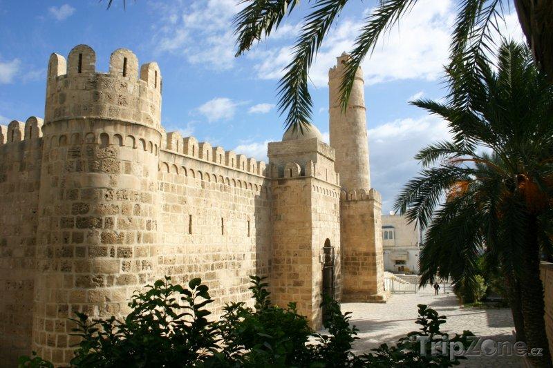 Fotka, Foto Pevnost ve městě Sousse (Tunisko)