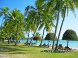 Pláž Cenang na souostroví Langkawi