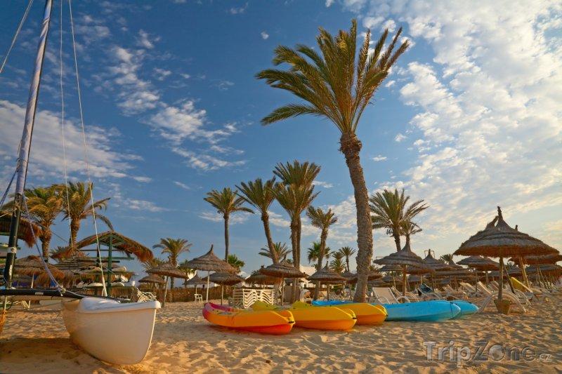 Fotka, Foto Pláž na Djerbě (Tunisko)