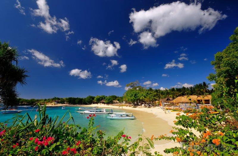 Fotka, Foto Pláž na ostrově Bali (Indonésie)