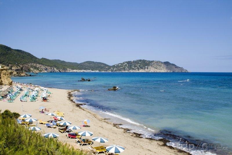 Fotka, Foto Pláž na ostrově Ibiza (Ibiza, Španělsko)