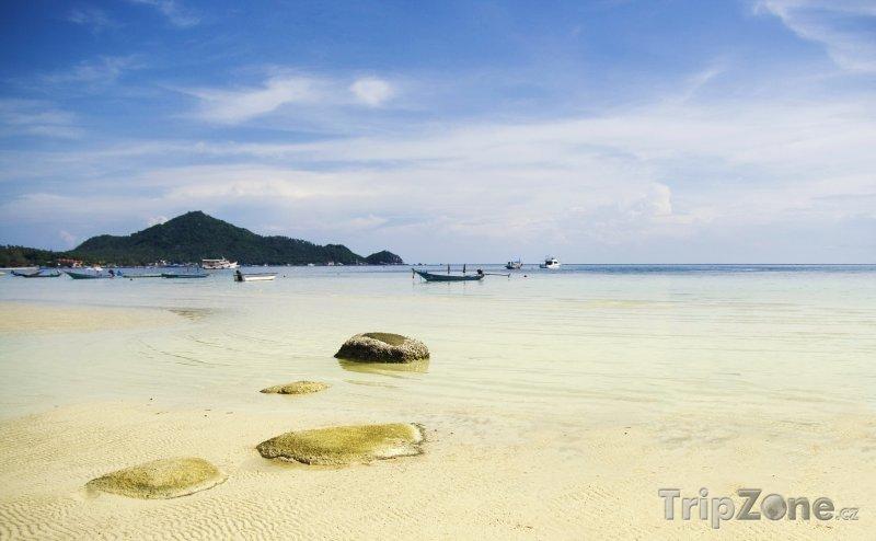 Fotka, Foto Pláž na ostrově Ko Tao (Thajsko)
