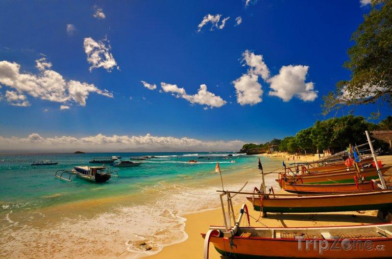 Fotka, Foto Pláž na ostrově Nusa Lembongan (Indonésie)