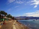 Pláž na severu země v Haifském distriktu